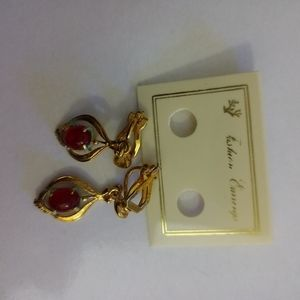 Clip on earrings beautiful from late 1990's